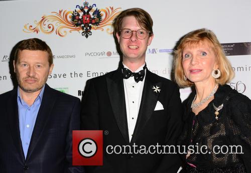 Oleg Fomin, Prince Rotislav Romanov and Sasha Ratiu 1