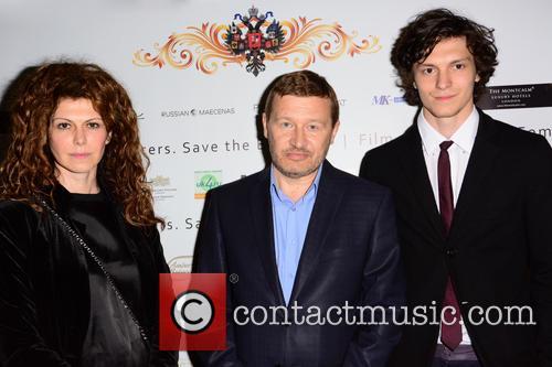 Regina Myannik, Oleg Fomin and Stepan Myannik 2