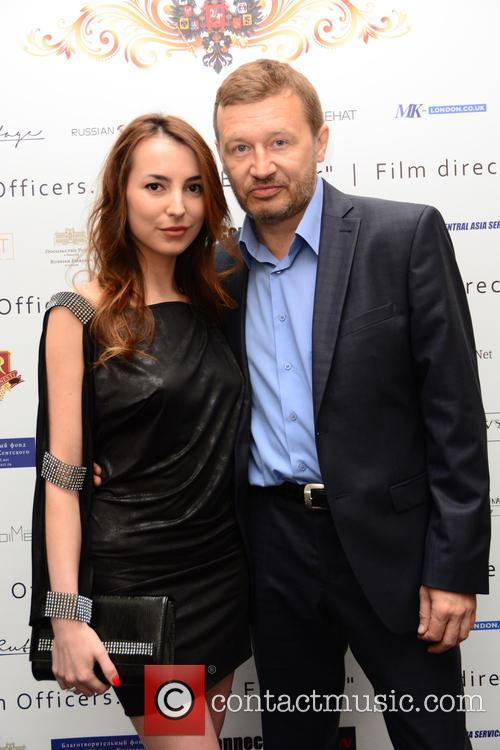 Oleg Fomi (film Director) and Wife 8