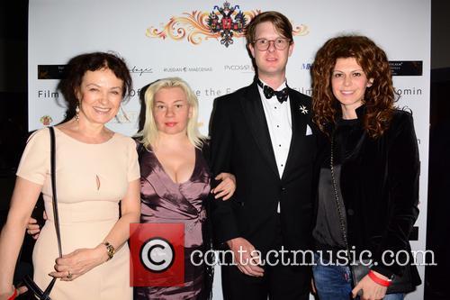 Olga Kurylenko, Marina Alyabusheva, Prince Rotislav Romanov and Regina Myannik (actress) 1