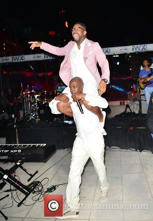 Wyclef Jean and Dj Irie