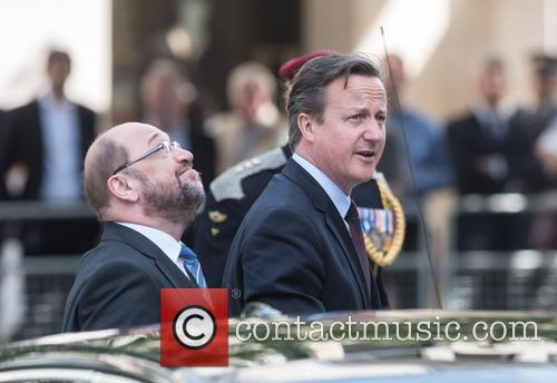 David Cameron and Martin Schulz 4