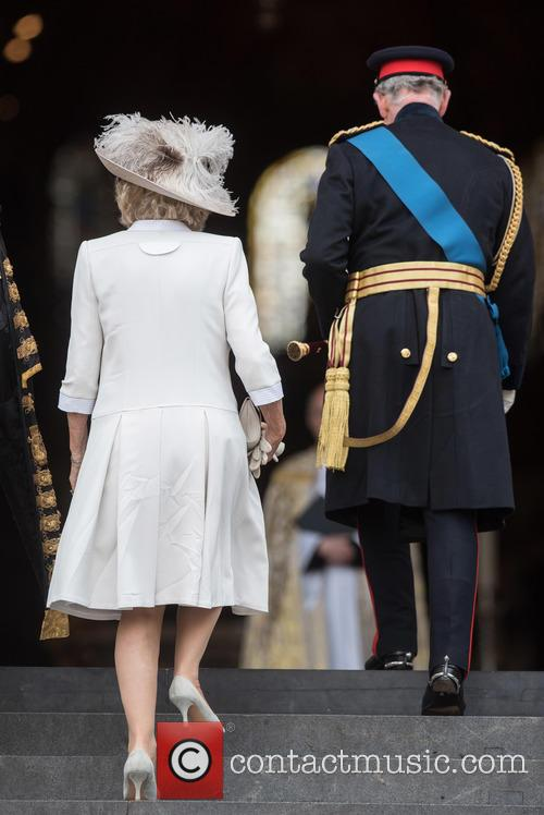 The Duchess Of Cornwall, The Prince Of Wales and Prince Charles 3