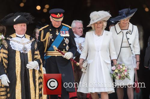 The Duchess Of Cornwall, The Prince Of Wales and Prince Charles 8