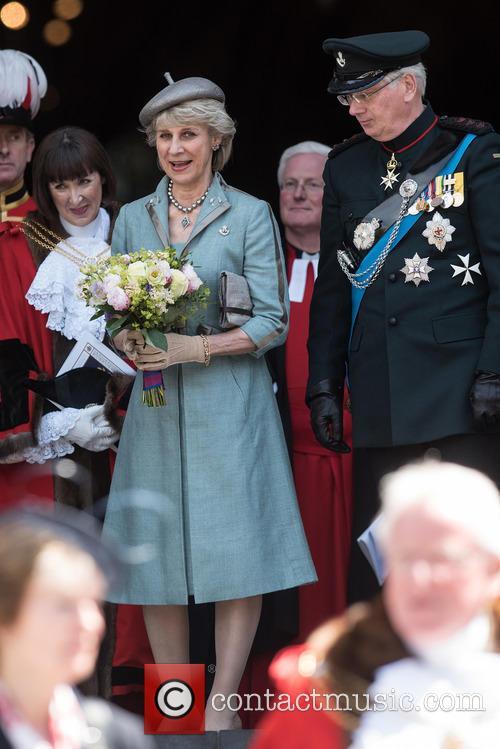 Birgitte Van Deurs and The Duke Of Gloucester 2