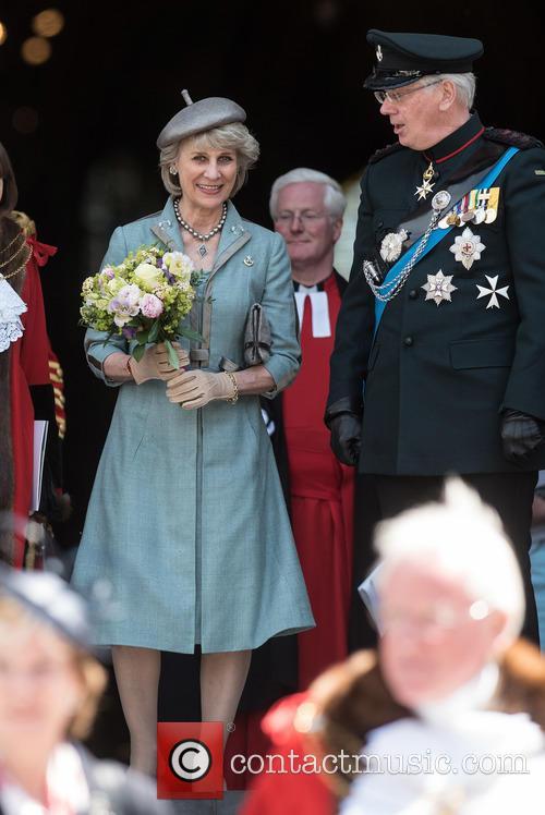 Birgitte Van Deurs and The Duke Of Gloucester 3