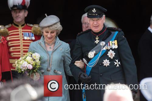 Birgitte Van Deurs and The Duke Of Gloucester 1