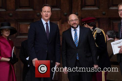 David Cameron and Martin Schulz 10