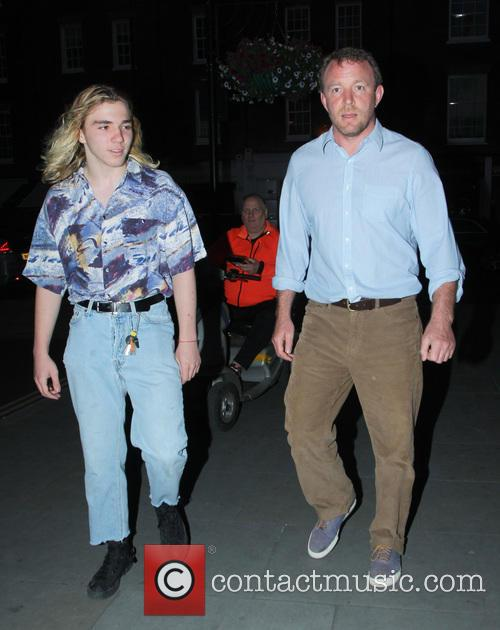 Rocco Ritchie and Guy Ritchie 7