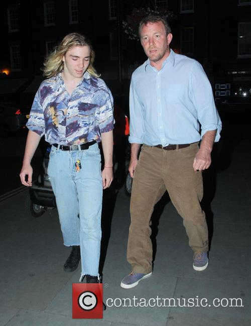 Rocco Ritchie and Guy Ritchie 1