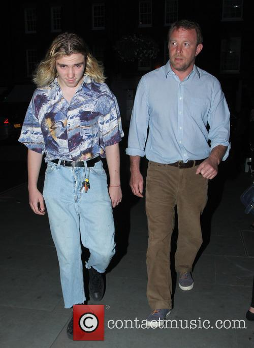 Rocco Ritchie and Guy Ritchie 8