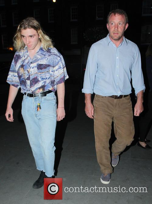 Rocco Ritchie and Guy Ritchie 9