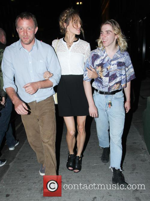 Guy Ritchie, Jacqui Ainsley and Rocco Ritchie