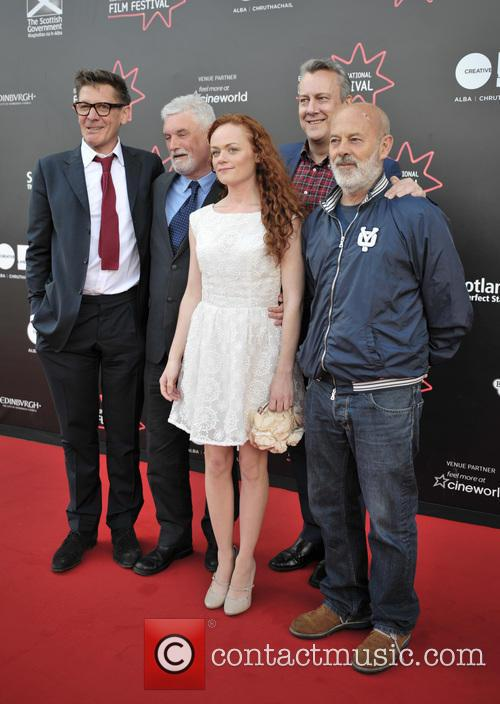 Jake Gavin, Natalie Gavin, Stephen Tomkinson and Keith Allen 5
