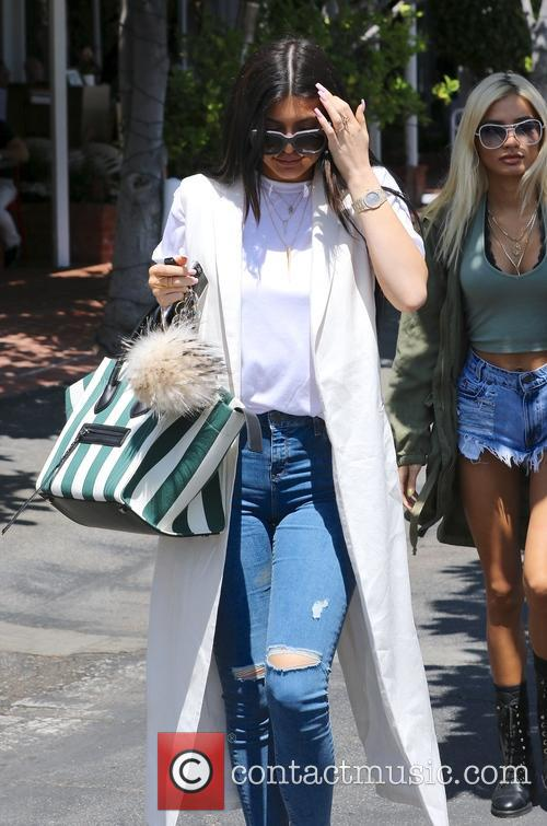 Kylie Jenner shops at Fred Segal