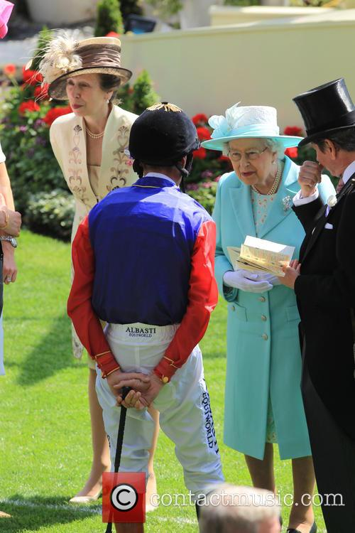 Princess Anne and Queen Elizabeth Ii 2