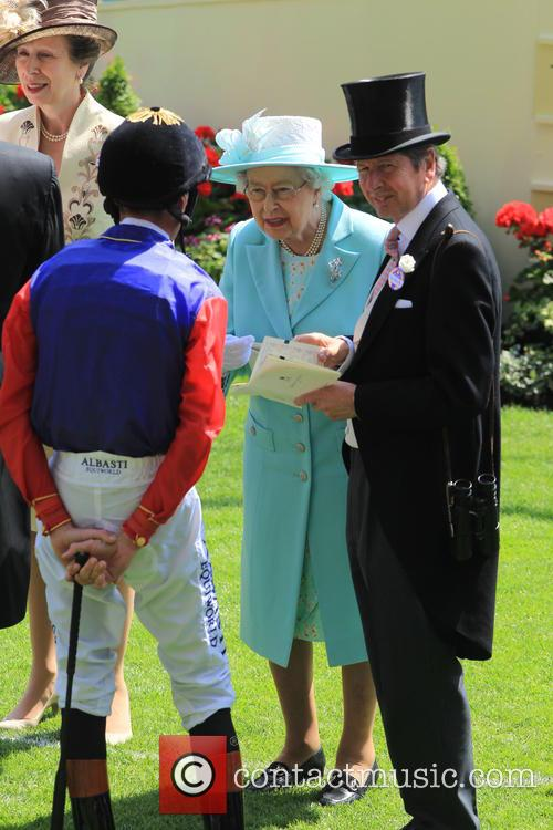 Princess Anne and Queen Elizabeth Ii 3