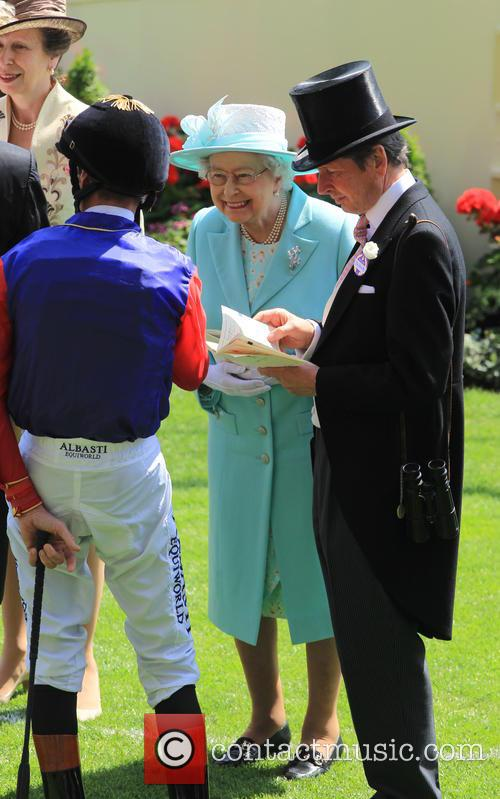 Princess Anne and Queen Elizabeth Ii 5