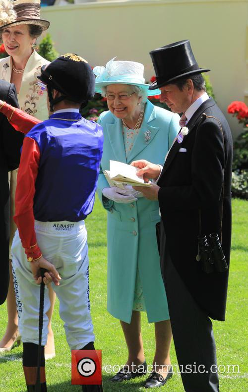 Princess Anne and Queen Elizabeth Ii 6