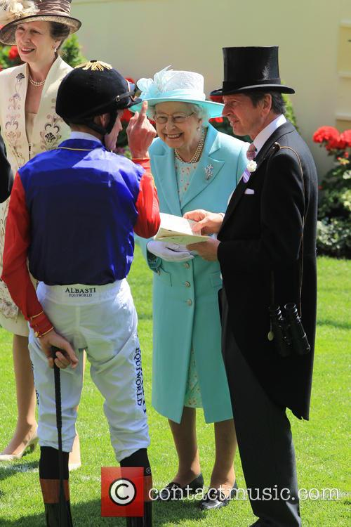 Princess Anne and Queen Elizabeth Ii 7