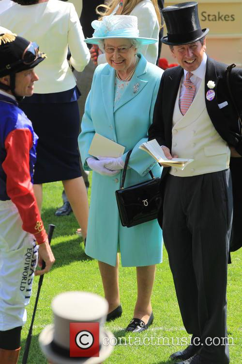 Princess Anne and Queen Elizabeth Ii 9