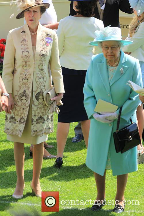 Princess Anne and Queen Elizabeth Ii 10