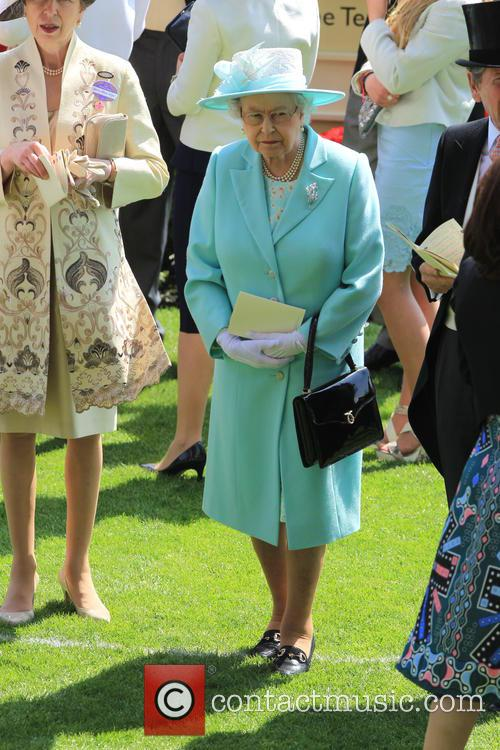 Princess Anne and Queen Elizabeth Ii 11