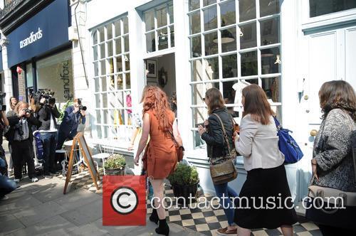 Victoria Beckham sells Harpers clothes