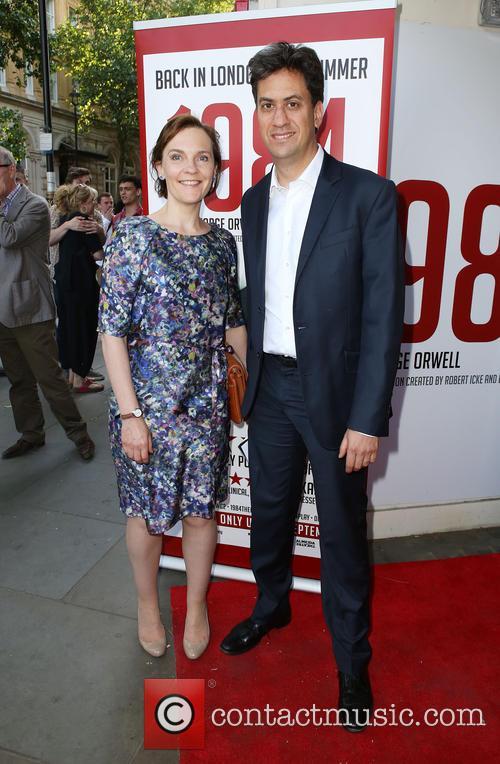 Ed Miliband and Justine Thornton 3