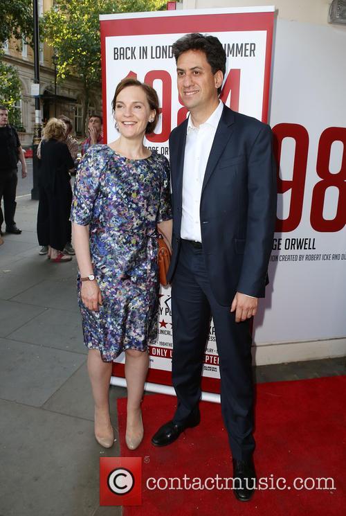 Ed Miliband and Justine Thornton 1