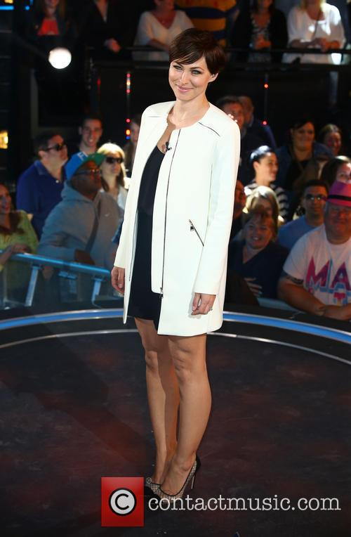 'Big Brother' eviction at Elstree Studios