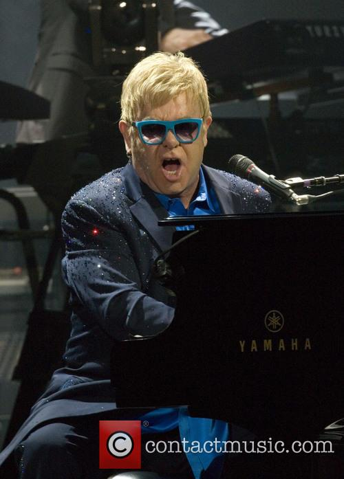 Sir Elton John performs at the SSE Hydro