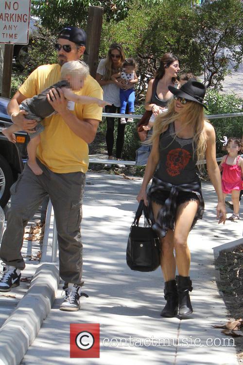 Fergie, Axl Duhamel and Josh Duhamel 6