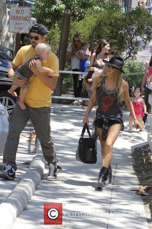 Fergie, Axl Duhamel and Josh Duhamel 7
