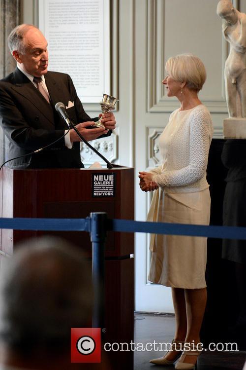 Ronald Lauder and Helen Mirren 3