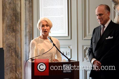 Ronald Lauder and Helen Mirren 5