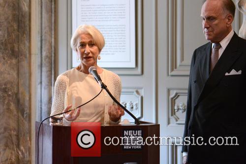 Ronald Lauder and Helen Mirren 6