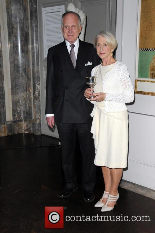 Ronald Lauder and Helen Mirren 7