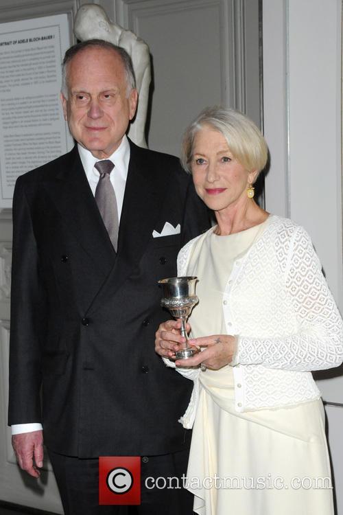 Ronald Lauder and Helen Mirren 8