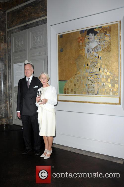 Ronald Lauder and Helen Mirren 1