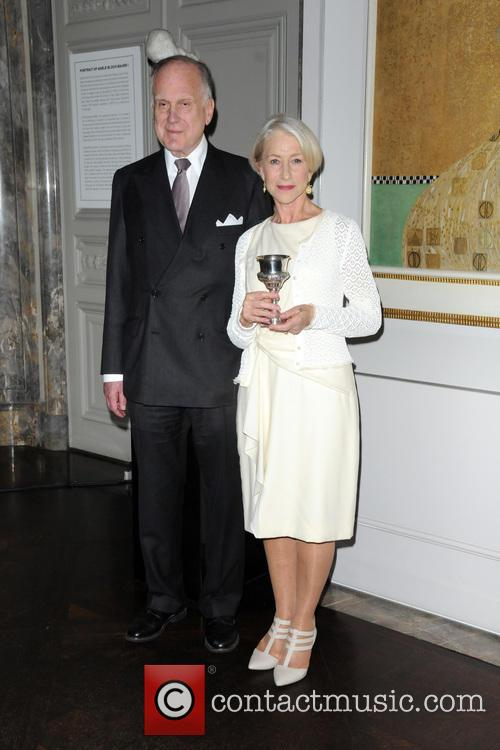 Ronald Lauder and Helen Mirren 9