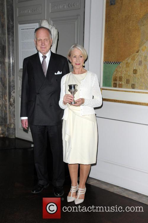 Ronald Lauder and Helen Mirren 10