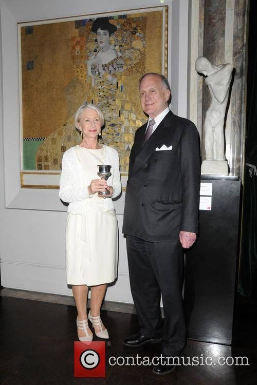 Helen Mirren and Ronald Lauder 9