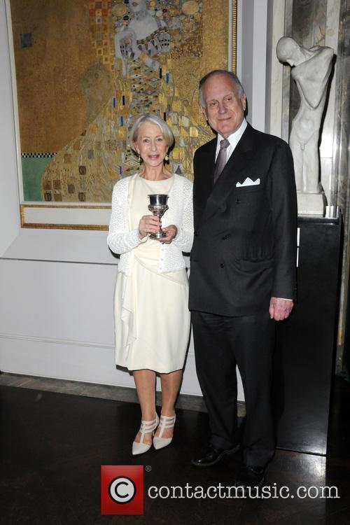 Ronald Lauder and Helen Mirren 11