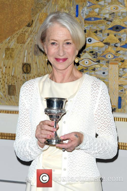 Helen Mirren honored by the World Jewish Congress...