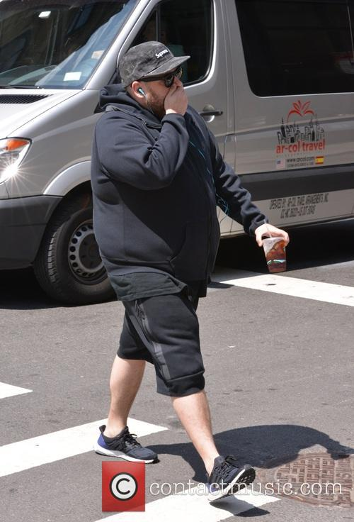 Jonah Hill spotted out and about in SoHo