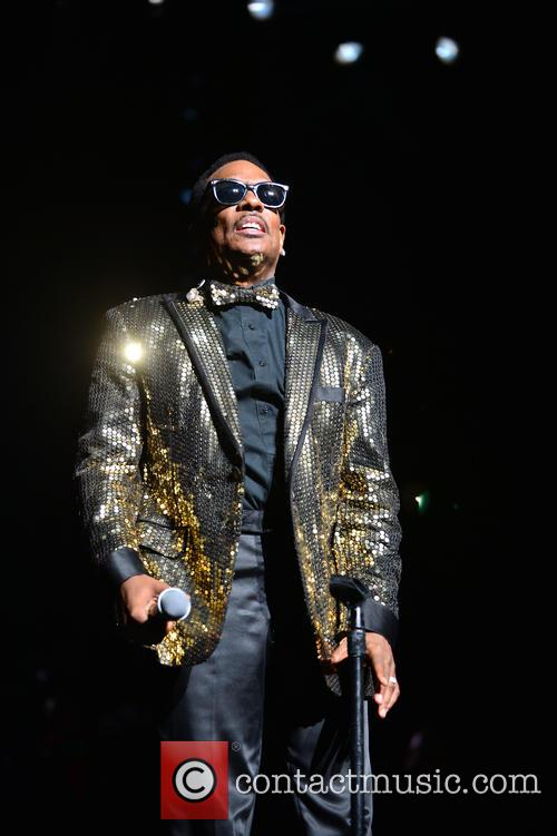 Charlie Wilson performs at the AmericanAirlines Arena