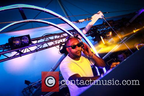 Idris Elba performs a DJ set at Goodwood...
