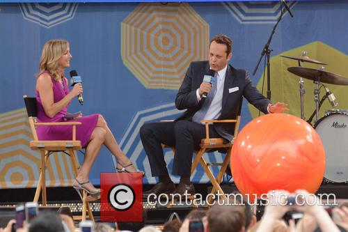 Lara Spencer and Vince Vaughn 2