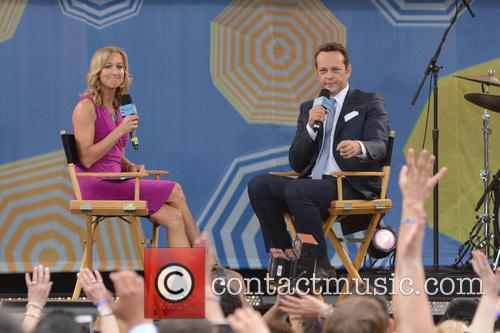 Lara Spencer and Vince Vaughn 1